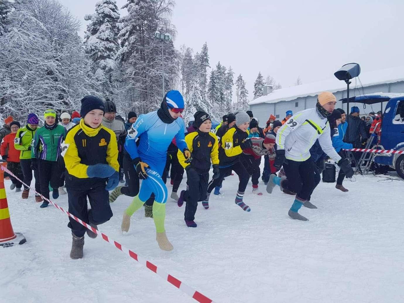 Orivedellä yksi vuosittainen tapahtuma on Villasukkajuoksun SM-kilpailut.