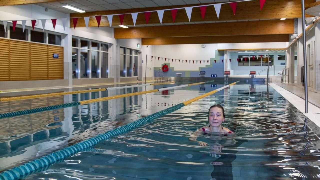 Uimahalli on vesiliikunnan keidas