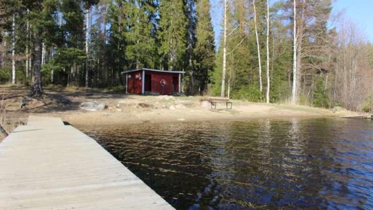 Teerijärven uimaranta.