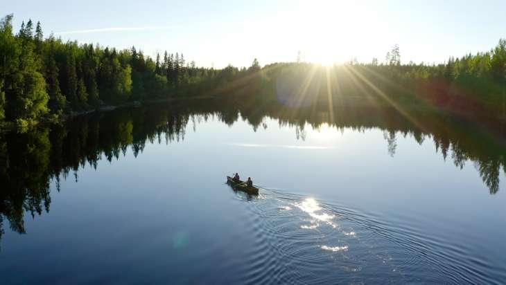 Orivedeltä matkailija löytää upeita luontokohteita ja vesistöjä.