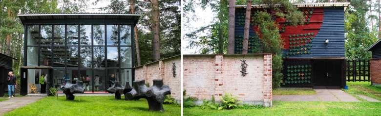 Taidekeskus Purnun näyttelyhalleja