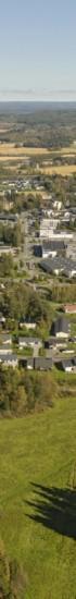 Uutta Mattilanniityn vielä rakentamatonta asuinaluetta ilmasta katsottuna.