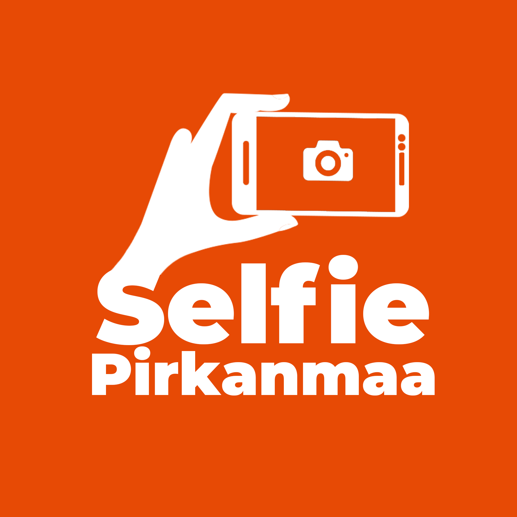 Selfien Pirkanmaa kampanjan logo.