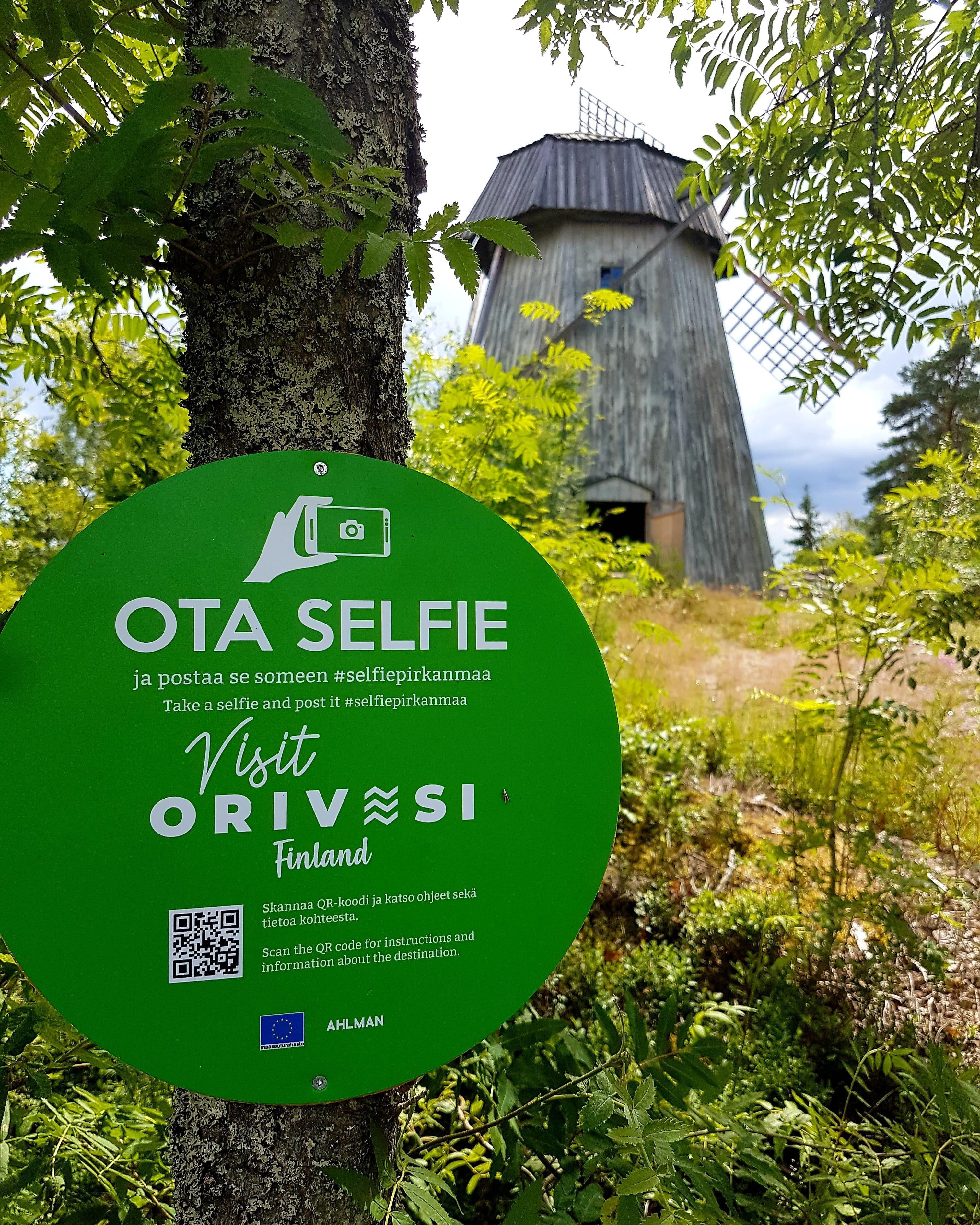 Selfie Pirkanmaa piste löytyy Paltanmäeltä.